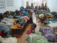 Seeking shelter in Bangui