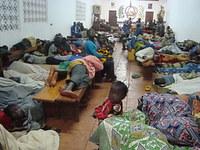 Seeking shelter in Bangui